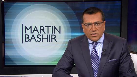 bashir Martin Bashir has done something no other Democrat or leftist in memory has done