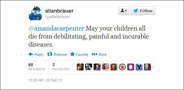 brauer2 Another Evil Progressive Gets Away With Death Threats