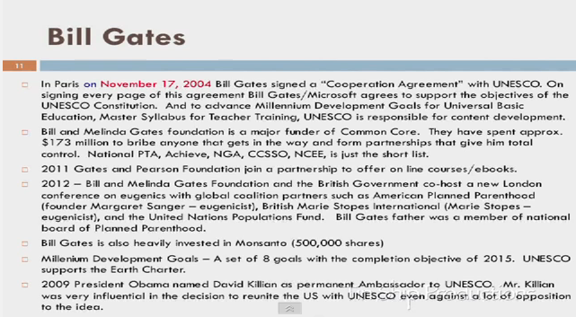 Screencap Credits: Karen Bracken  Bill Gates Resume