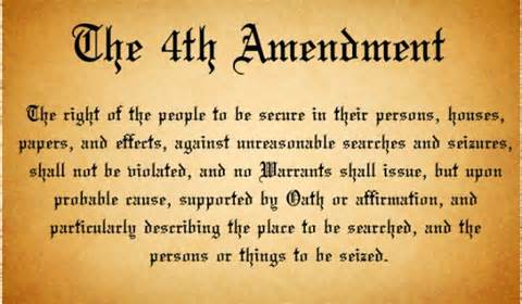 4th Amendment text