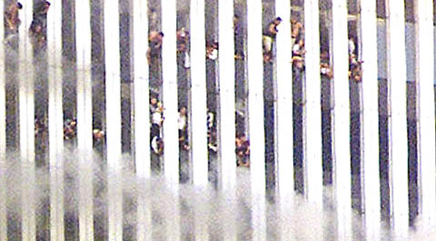 People preparing to jump from the Twin Towers on 9/11, they deserve to be remembered