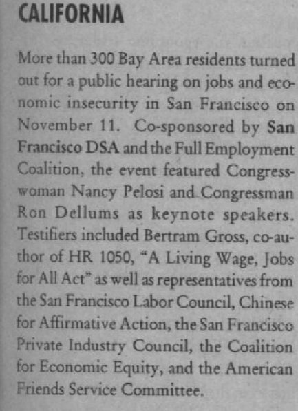nancy4 Nancy Pelosi (D-CA 12)  KeyWiki Progressive / Marxist Profiles
